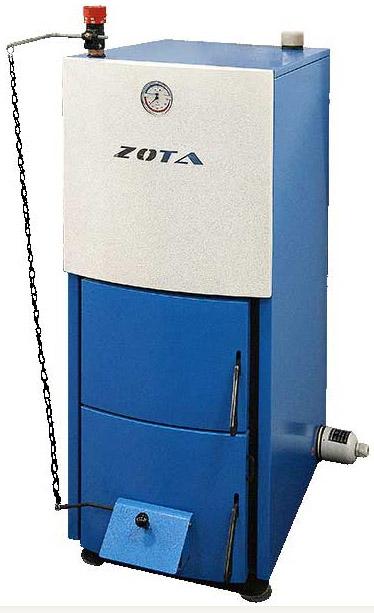 Твердотопливный котел ZOTA Mix фото