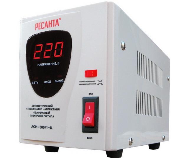 стабилизатор для газового котла ресанта