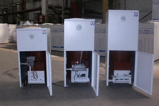Энергонезависимые газовые напольные котлы отопления 4