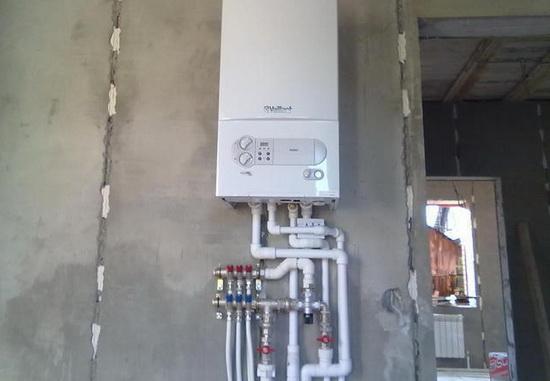 Монтаж газового настенного котла - схемы обвязки и подключения 2