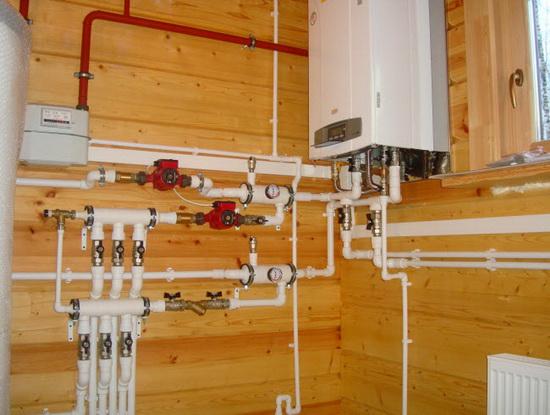 Монтаж газового настенного котла - схемы обвязки и подключения 5