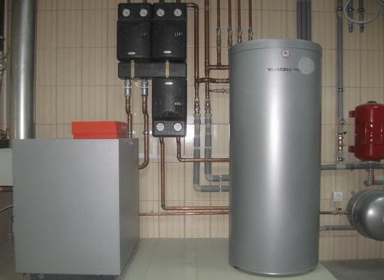 Напольный газовый котел с бойлером – почему именно это вариант 5