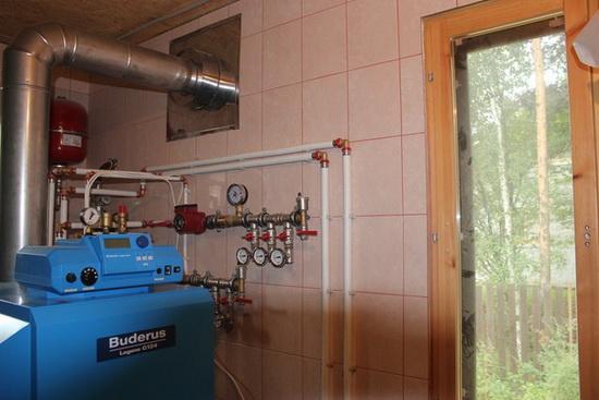 Как правильно установить напольный газовый котел 5