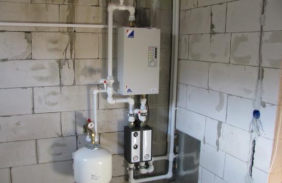 Электрокотлы ЭВАН - технические характеристики и схема подключения электрического котла отопления 2