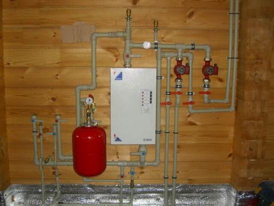 Электрокотлы ЭВАН - технические характеристики и схема подключения электрического котла отопления 5