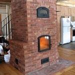 Финская печь для отопления дома - печь дровяная для деревянного дома 1