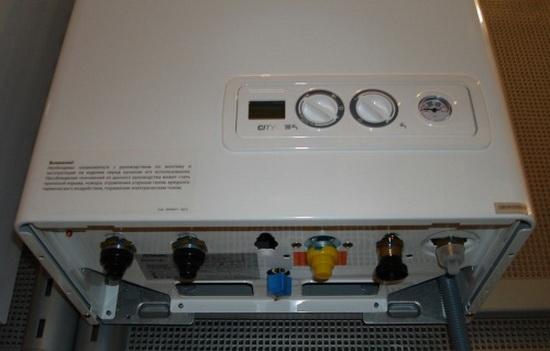 Итальянские газовые котлы отопления двухконтурные Беретта 2