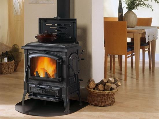 Чугунные печи - камины длительного горения для отопления дома 2