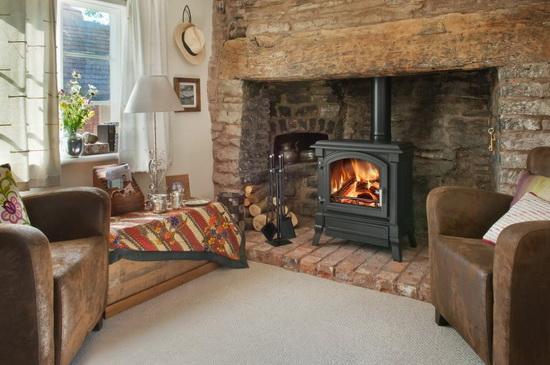 Чугунные печи - камины длительного горения для отопления дома 4