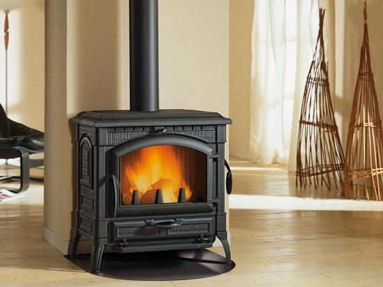 Чугунные печи - камины длительного горения для отопления дома 5