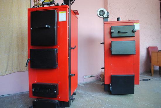 Получаем горячую воду от дров - используем двухконтурный твердотопливный котел длительного горения 5
