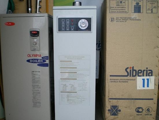 Напольные газовые котлы Сиберия - технические характеристики и отзывы 2