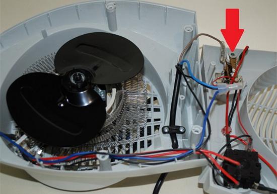 Какие возможны поломки тепловентиляторов и как осуществляется ремонт 5