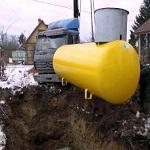Отопление сжиженным газом от газгольдера для загородного дома 1