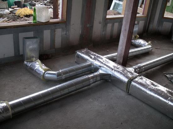Воздушное отопление загородного дома - варианты 4