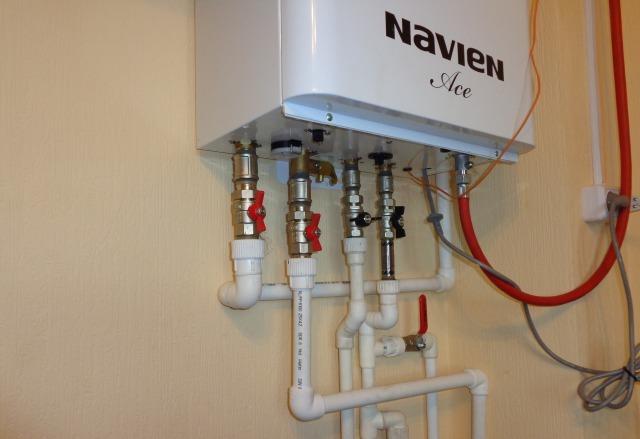 обвязка газового котла отопления схема 1