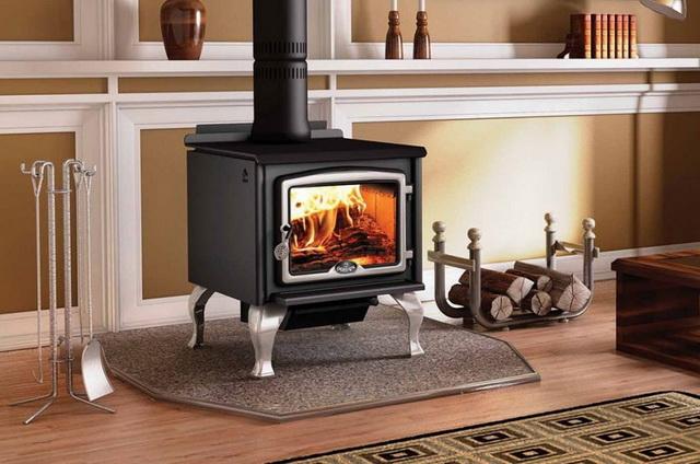 Виды дровяных печей длительного горения для отопления дома 4