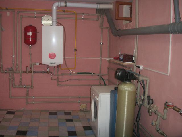коаксиальная труба для газового настенного котла установка фото 5