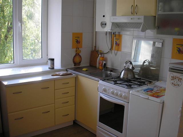 котел на маленькой кухне