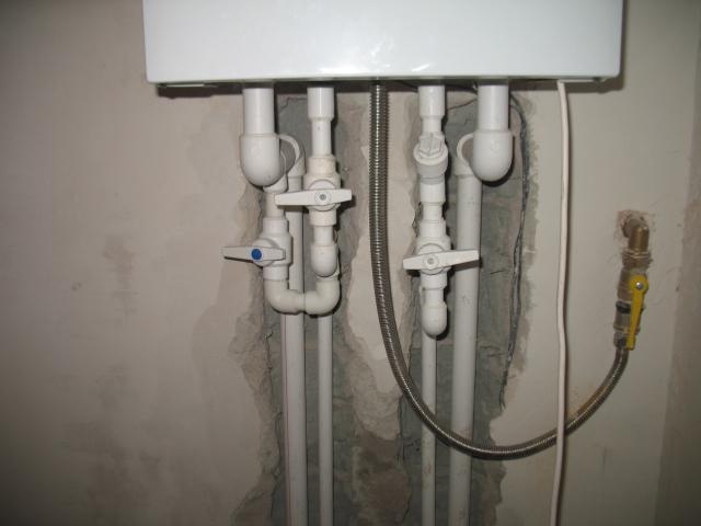 обвязка двухконтурного котла отопления полипропиленом схемы фото 4