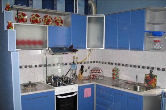 Как спрятать газовый котел на кухне - фото и идеи 3