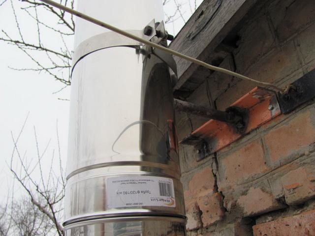 Как можно сделать дымоход для газового котла в частном доме своими руками 2