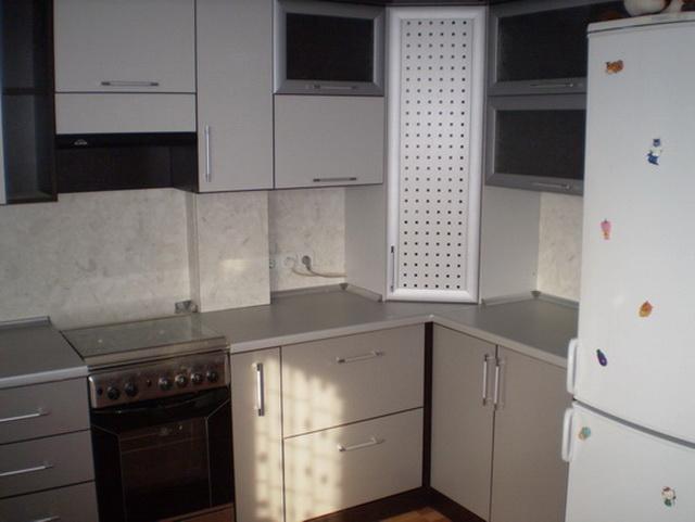 Как красиво закрыть газовый котел на кухне - фото 1