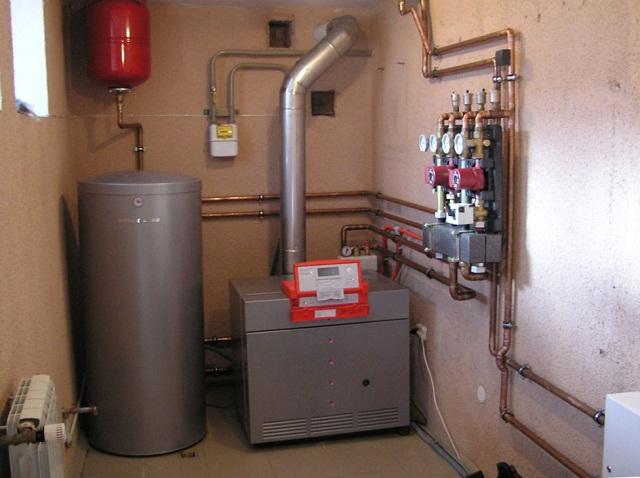 Водяной теплый пол от газового котла в доме своими руками 1