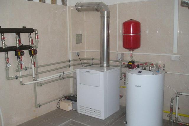 Водяной теплый пол от газового котла в доме своими руками 3