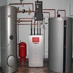 Получаем горячую воду от газового котла - варианты с бойлером и без 1