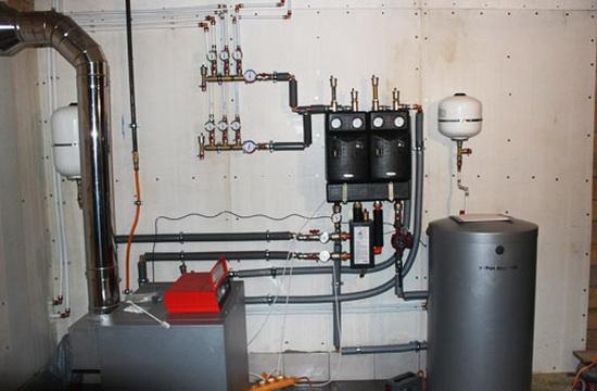 Напольный газовый двухконтурный котел 3