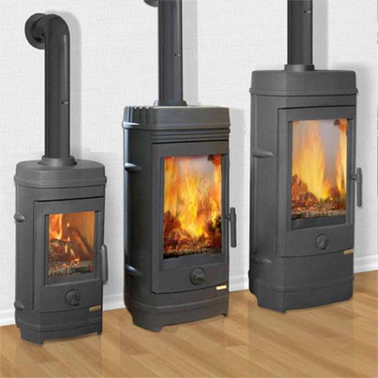 Чугунные печи - камины длительного горения для отопления дома 3