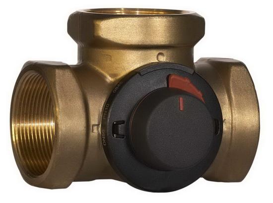 Клапаны в СО - перепускной клапан системы отопления и трехходовой клапан на системе отопления 4