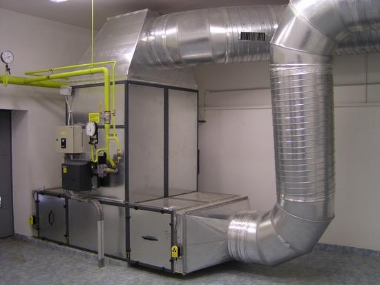 Считаем воздушное отопление производственных помещений - расчет и схема 3