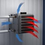 Считаем воздушное отопление производственных помещений - расчет и схема 1