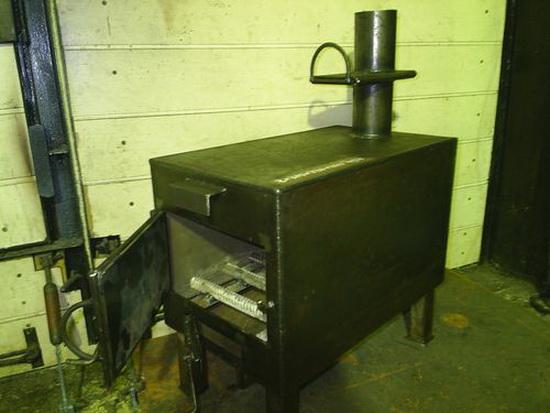 Самодельные котлы отопления на дровах и водяное отопление