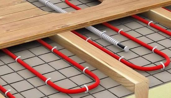 Какой теплый пол класть под ламинат на деревянный пол 3