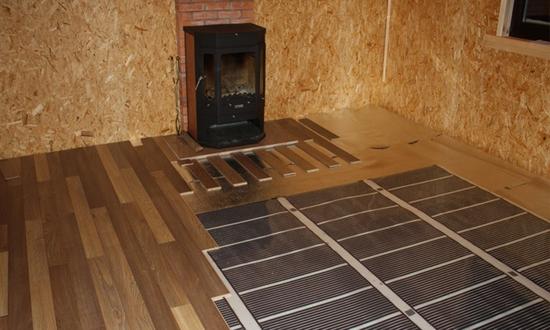 Какой теплый пол класть под ламинат на деревянный пол 4