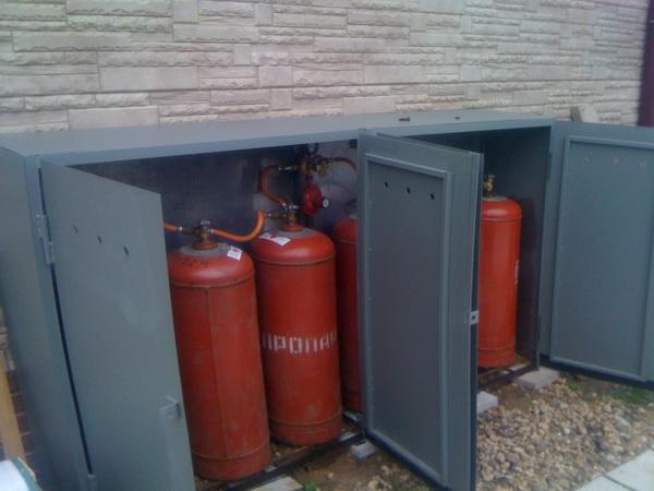 Автономное газовое отопление загородного дома баллонным газом 2