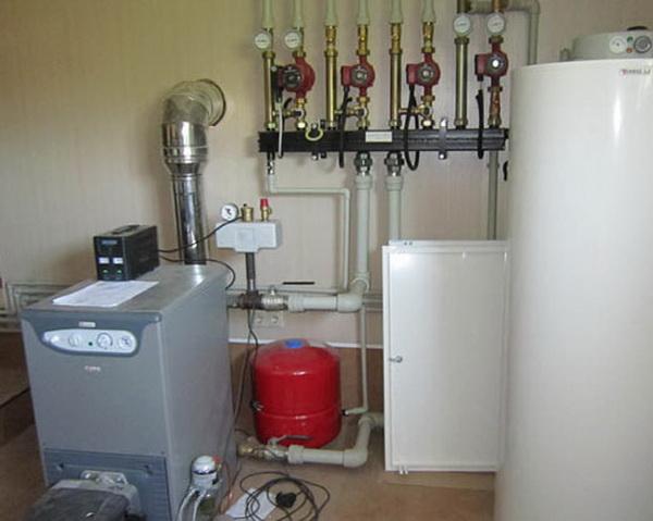 Автономное газовое отопление загородного дома баллонным газом 3