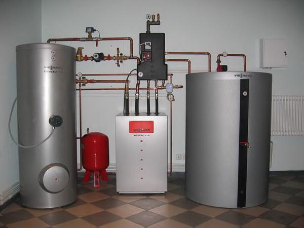 Автономное газовое отопление загородного дома баллонным газом 4