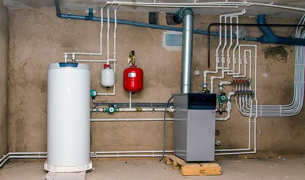 Монтаж отопления дома – начинаем с плана 2