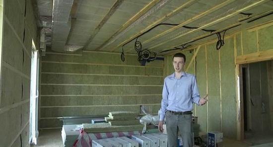 Воздушное отопление загородного дома - варианты 2