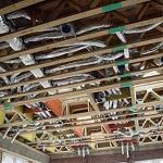 Воздушное отопление загородного дома - варианты 1