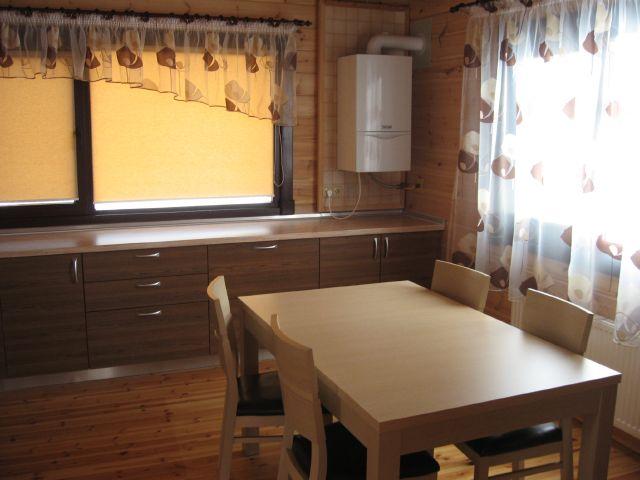 дизайн кухни с котлом индивидуального отопления в углу фото 3