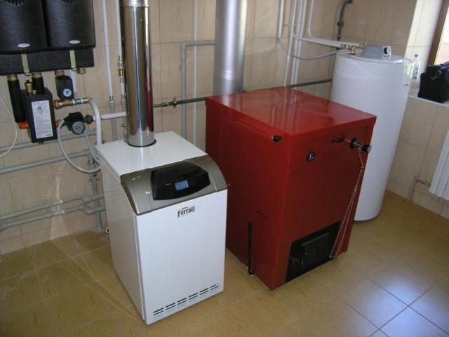 как спрятать напольный газовый котел на кухне в углу фото 1