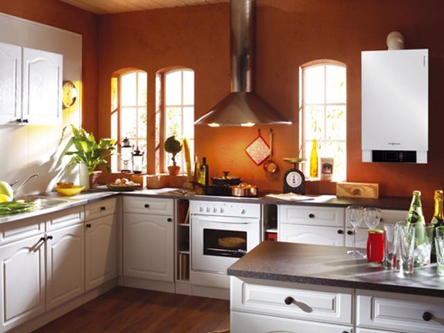 как спрятать напольный газовый котел на кухне в углу фото 2