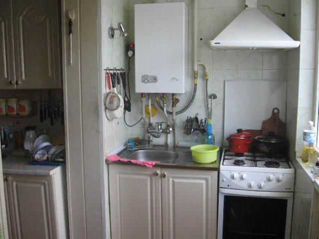 как спрятать напольный газовый котел на кухне в углу фото 4