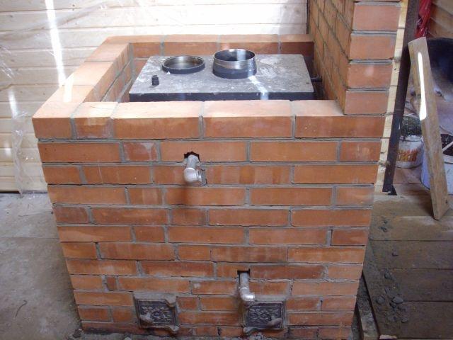 кирпичная печь с котлом водяного отопления своими руками фото 6