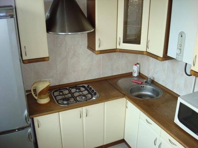 маленькая кухня дизайн фото 9 кв м с холодильником с котлом 6